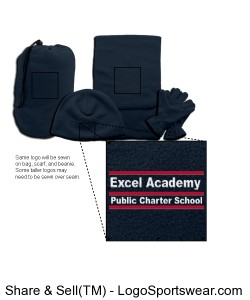 Excel Academy Public Charter School (Winter Gear) Design Zoom